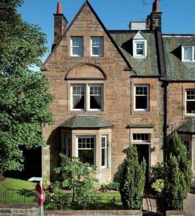 7 bedroom terraced house for sale in kilmaurs terrace for 23 ravelston terrace edinburgh