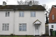 semi detached property in Birch Road, Tadley...