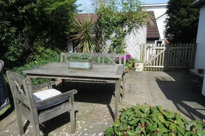 Secluded Patio Area