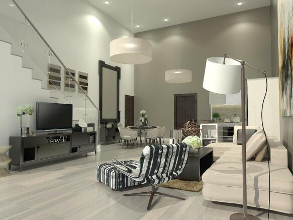 Living Hall & Lounge