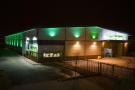 Facility at night
