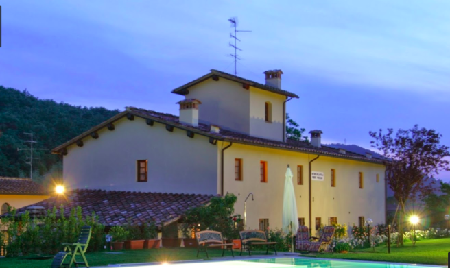 Tuscan country home