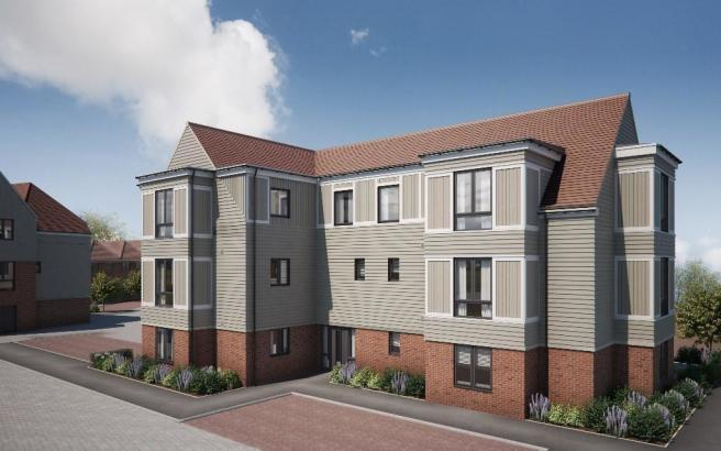1 bedroom apartment for sale in horsted way rochester me1 2xy me1