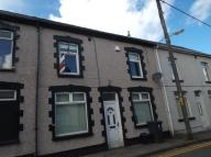 Terraced house in Alexandra Street, Gwent...