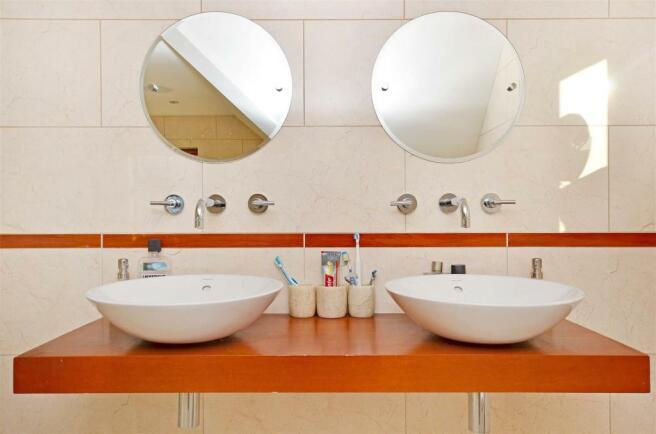 Sinks in Master Bedr