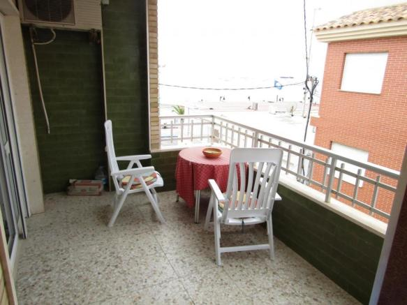 Apartment with sea views over Lo Pagan