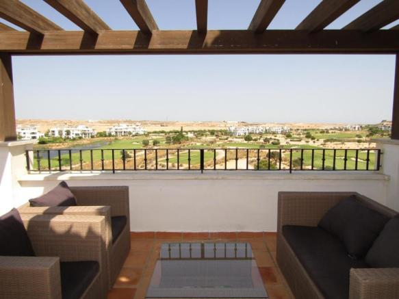Penthouse apartment on 5* golf resort