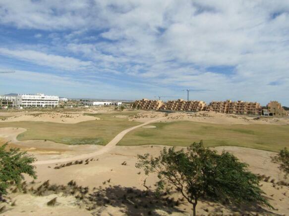 Penthouse on golf resort