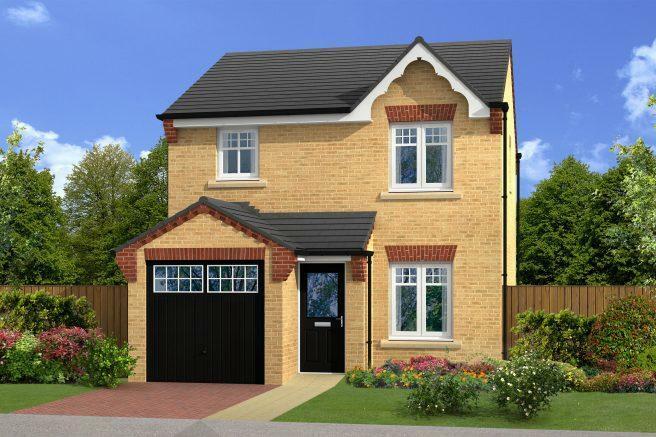 New Build Homes Mapplewell Barnsley