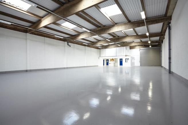 Typical warehouse in