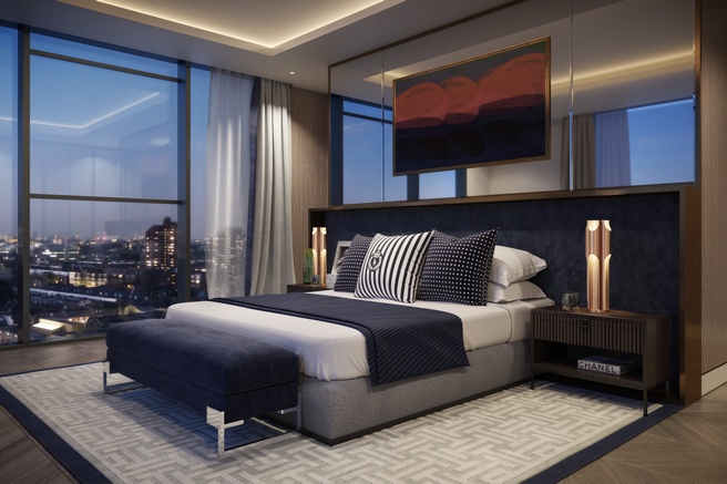 Typical Master suite