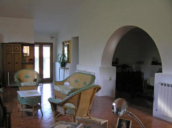Downstairs reception
