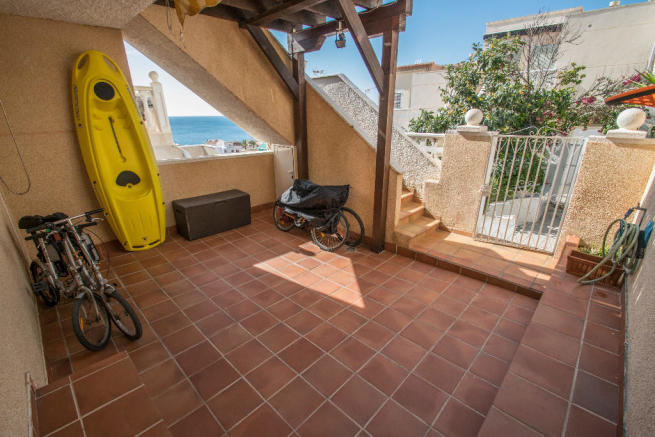 Terrace downstairs