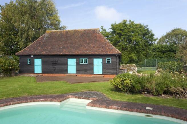 Pool & barn