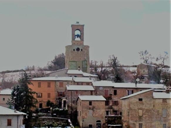 Papiano in winter