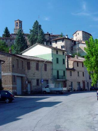 Lower village&shops
