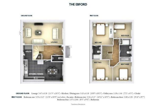 Ebford Floor Plan