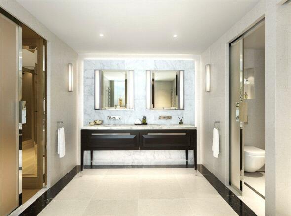 Ensuite Bathroom Sw1