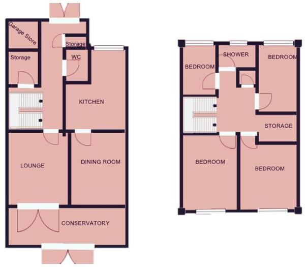 Churncote Floorplan.