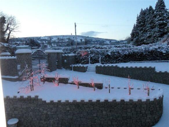 Entrance In Snow