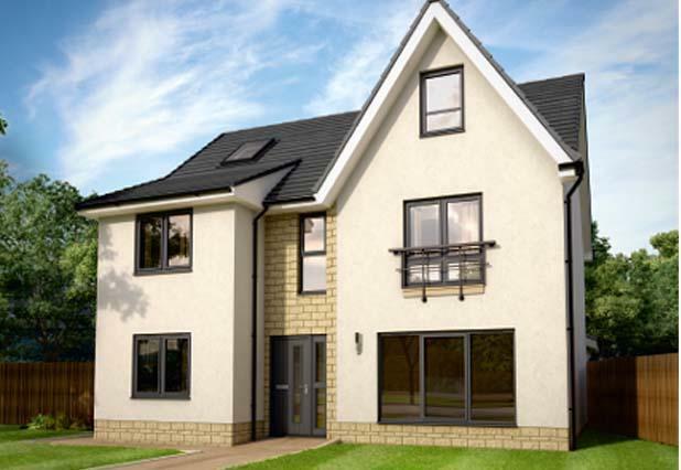 4 bedroom detached house for sale in calder park road mid calder livingston eh53 0rx eh53
