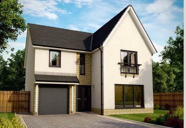 New Build Homes Mid Calder