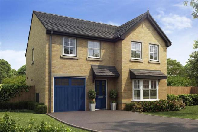 Artist impression of The Haddenham (Buff Brick) at Tootle Green