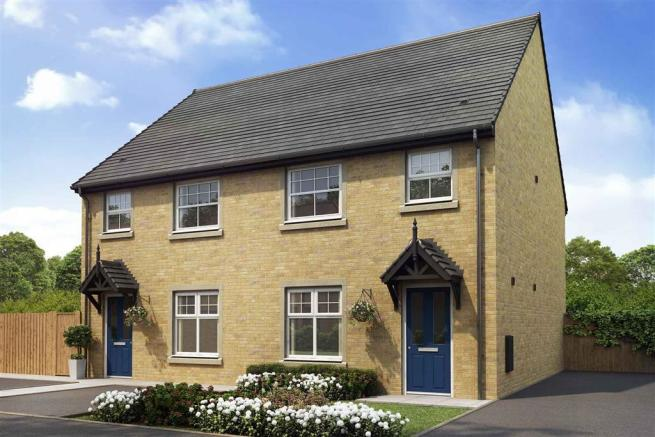 Artist impression of The Gosford (Buff Brick) at Tootle Green