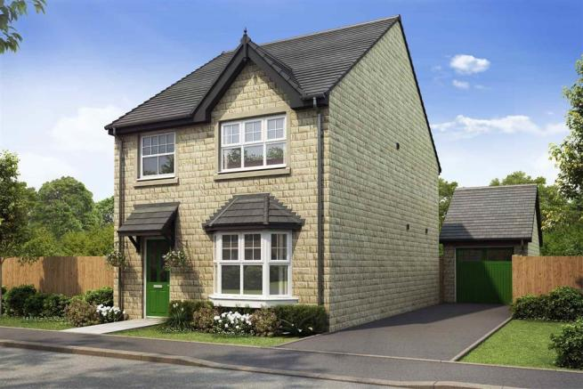 Artist impression of The Lydford (Stone) at Tootle Green