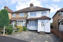 3 bed semi detached home to rent in Watford