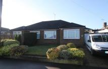 Fernheath Way Bungalow to rent