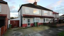 3 bedroom semi detached home to rent in Springfield Road...