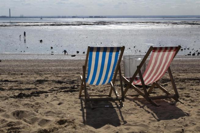 Deckchairs at Southe