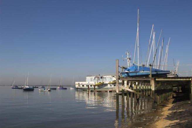 Boats at Leigh-on-Se