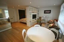 Studio flat in Montpelier Row, London...