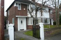 3 bed house in Mardale Avenue Didsbury...