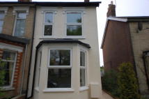 2 bed semi detached property to rent in Nacton Road, Ipswich...