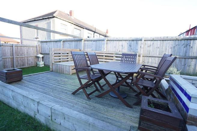 DECKED SEATING AREA