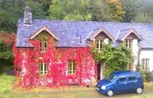 Cottage in Dologau, Hafod Estate...