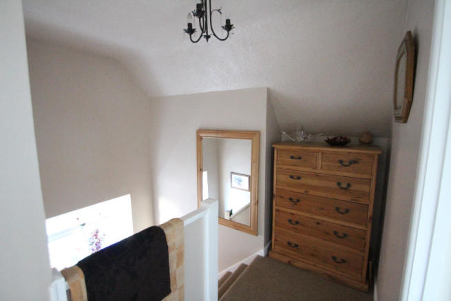 then upstairs