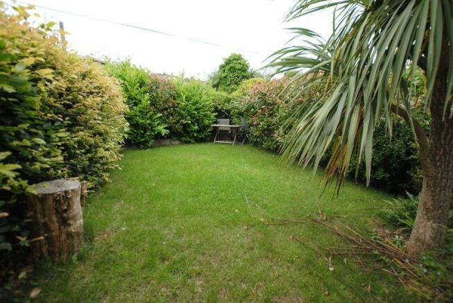 Lawned garden ...