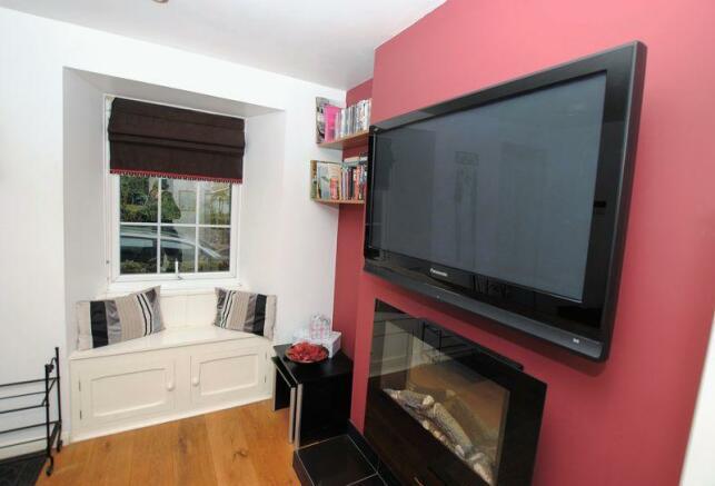 Tv and window ...