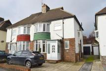 semi detached property to rent in Old Shoreham Road, Hove...