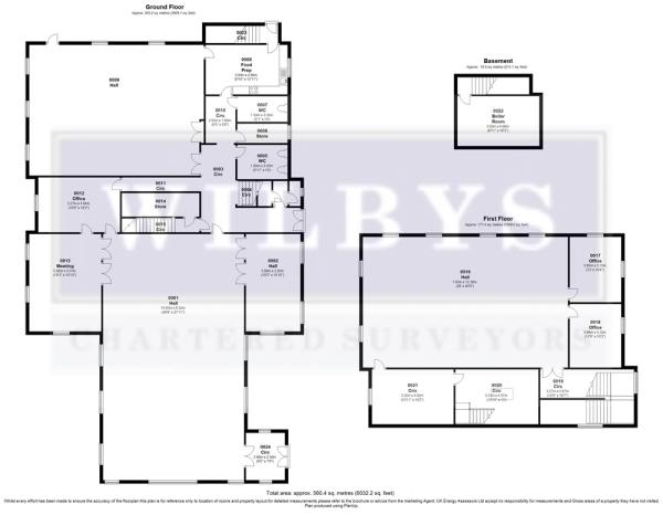 Royston Methodist Church - Floor Plan 02-02-17