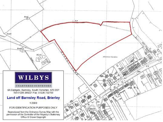 Plot 1 - 5.90 acres off Barnsley, Brierley