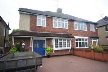 semi detached property in Longfield Road...