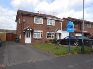 2 bedroom semi detached house in Holbein Close, BEDWORTH...