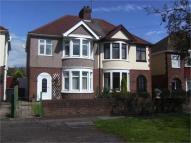 semi detached house in Newdigate Road, BEDWORTH...