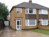 Cowdray Close semi detached house to rent