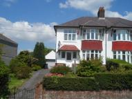semi detached house in Station Road...